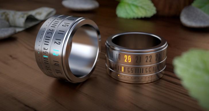 Óragyűrű: szép és okos