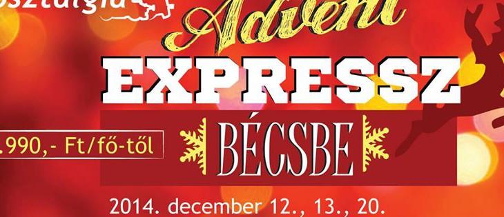 Advent Expressz – élményvonat Bécsbe