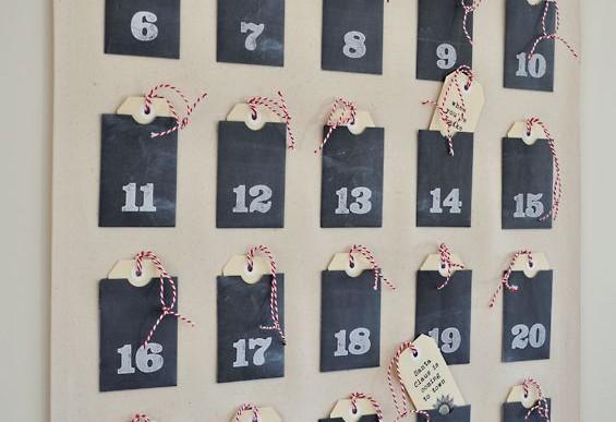 5+1 ötletes adventi naptár házilag