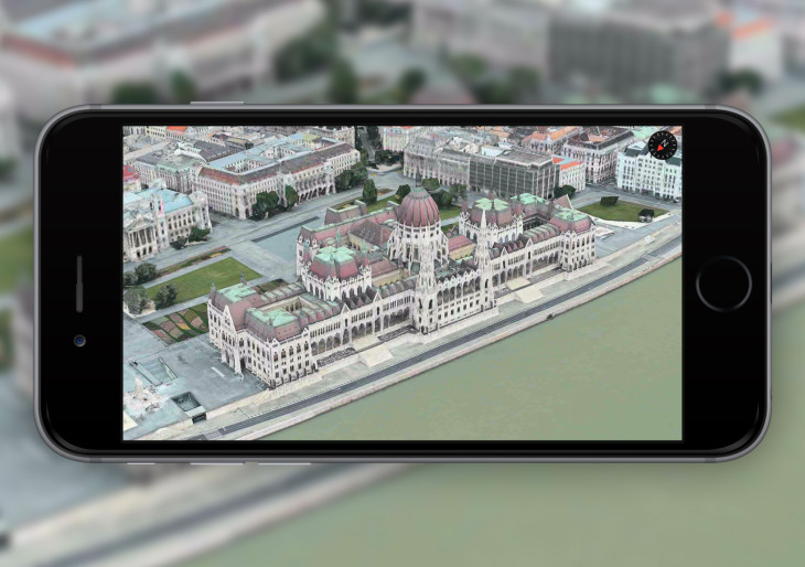 Járd be Budapestet 3D-ben Flyover Tourral