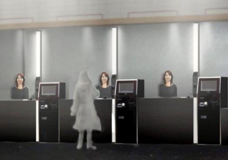 Robothotel nyílik Japánban