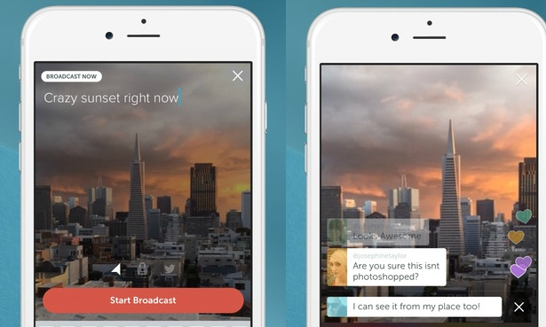 Új appok, amelyek élő közvetítések élményét adják