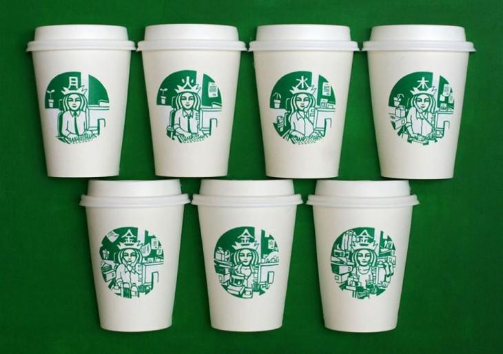Starbucks pohár, ahogy még sohasem láttuk