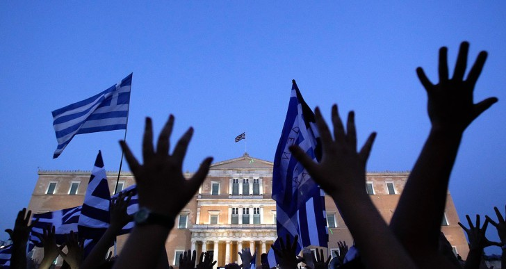 Küszöbön a krízishelyzet Görögországban