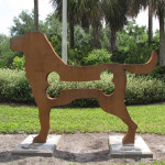 Dog Park Sculpture 001