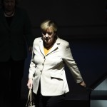 GERMANY-POLITICS-PARLIAMENT-MERKEL