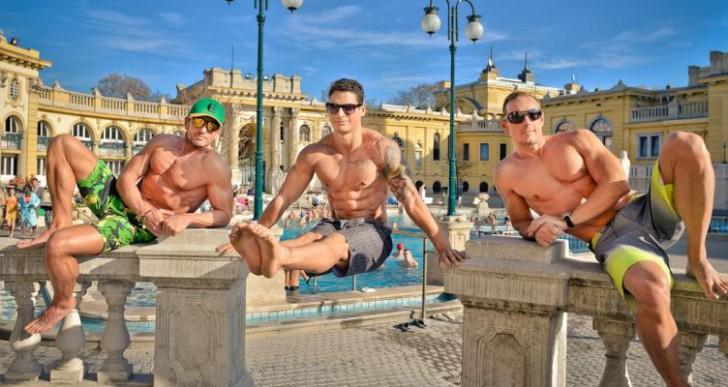 Fitneszversenyzők népszerűsítik a budapesti fürdőket
