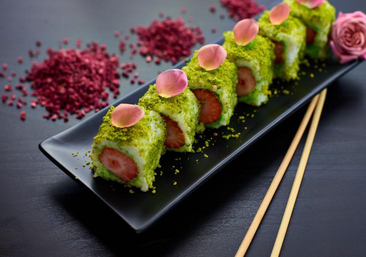 Sushi gyümölcsből: itt a The Fruit Sushi!