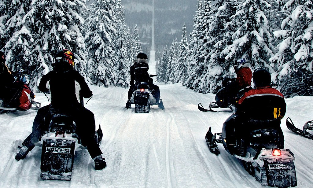 Snowmobile Border Trip