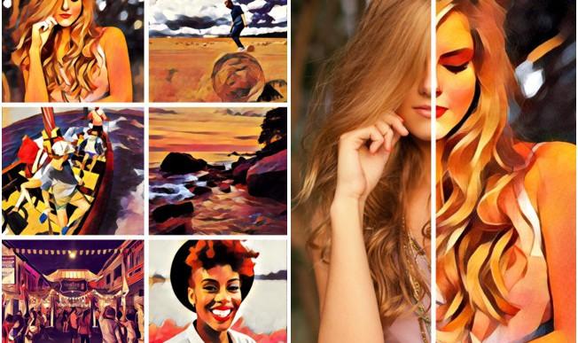 Gyönyörű festménnyé alakítja a képeidet ez az alkalmazás