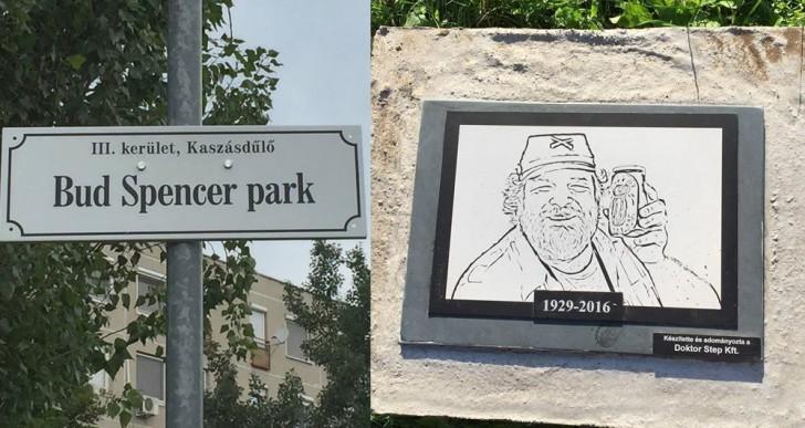 Ott voltál a Bud Spencer park átadó ünnepségén?