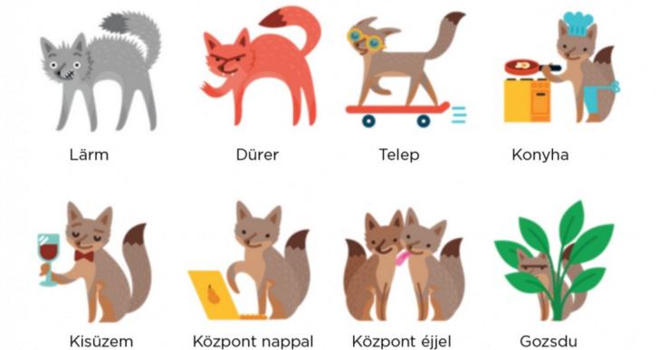 Rókák mutatják meg, milyenek Budapest szórakozóhelyei