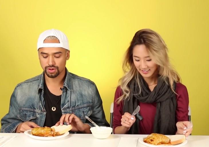 Zseniális videó: először esznek magyar ételt ezek a fiatalok