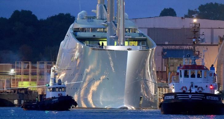 Elkészült a világ legfuturisztikusabb jachtja