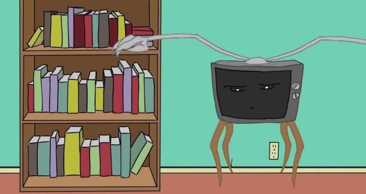 200 könyvet olvashatnál el évente, ha nem tévéznél annyit