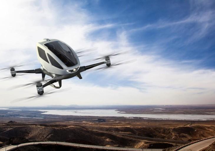 Dubajban drón taxik szállíthatják az embereket!