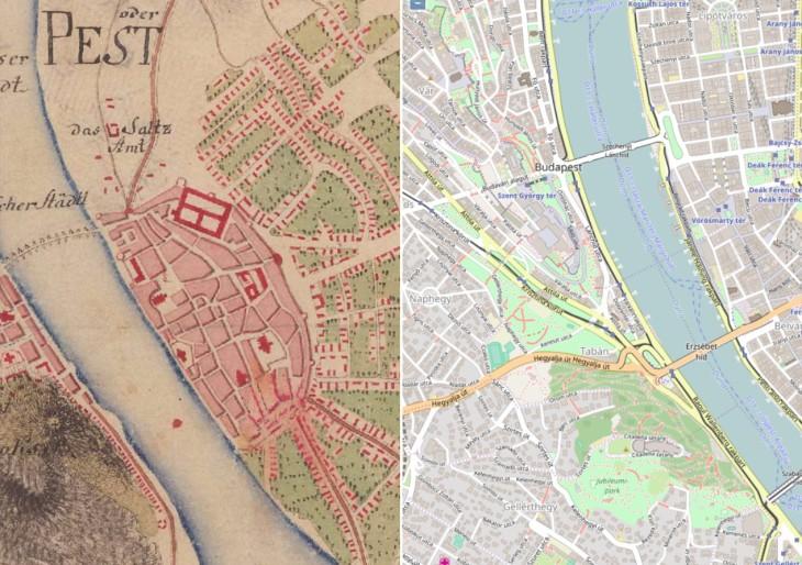 Térképen az elmúlt 250 év: nézd meg a lakóhelyed évszázadokkal ezelőtt