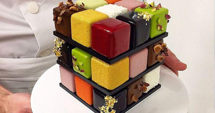 Rubik-kocka tortát tervez Franciaország legjobb cukrásza