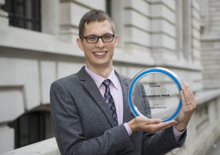 A Nobel utáni második legnagyobb tudományos díjat nyerte egy magyar fiatal