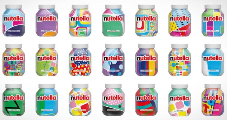 7 millió egyedi üveget tervezett a Nutella