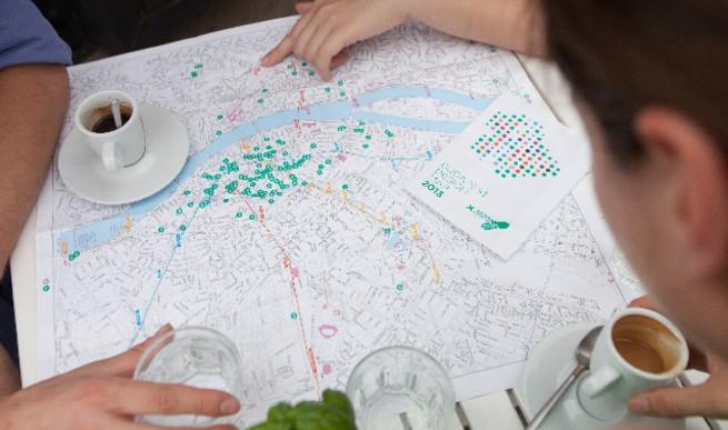 Megjelent a Budapest Design Map