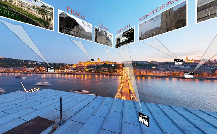 Járd be a fővárost világsztárok nyomában! Elkészült az első magyar filmturisztikai alkalmazás