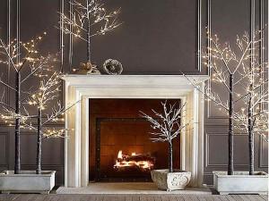 modern karácsonyi dísz dekoráció ünnep fenyő koszorú világítás toll hópehely csillag asztaldísz színes fekete fehér télapó mikulás-1-2015-otthon ötlet