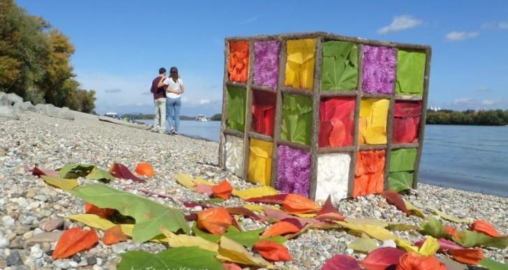 Ilyen gyönyörű Rubik-kockát még nem láttunk. Ráadásul mindez a természet műve