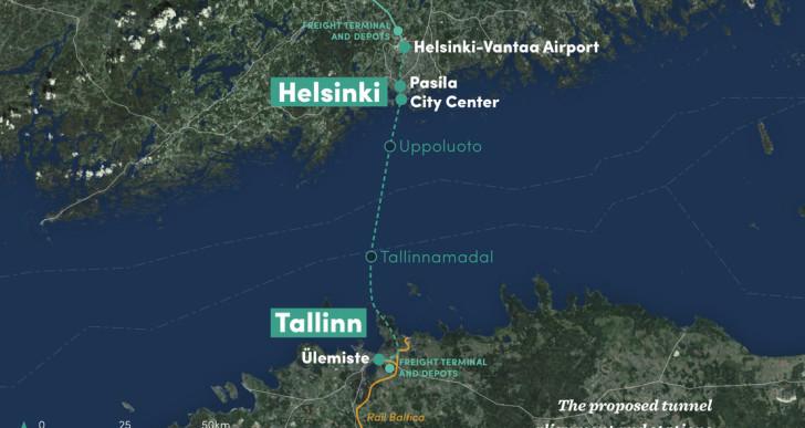 Európában építhetik meg a világ leghosszabb tenger alatti vasútját