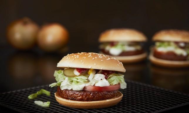 A McDonald's bemutatja: íme a Vega burger