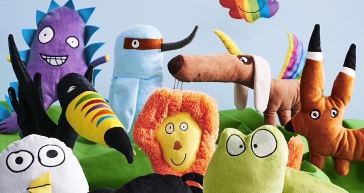Ezekből a gyerekrajzokból lesz idén plüssállat: bemutatta idei limitált kollekcióját az Ikea