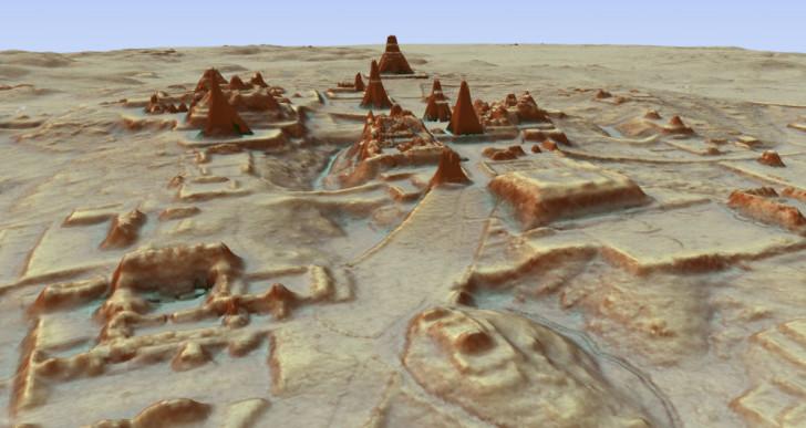 Elképesztő felfedezés: 60 ezer maja építményre bukkantak a dzsungelben