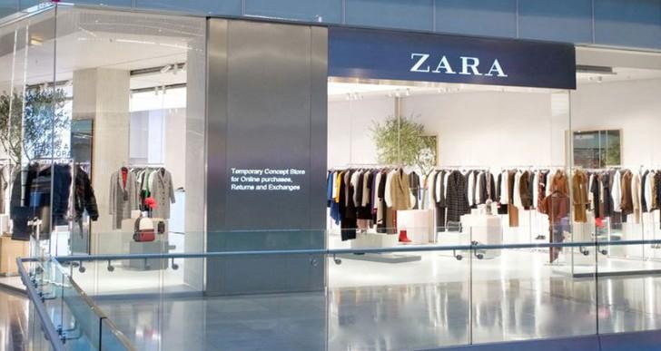 A jövő itt van: első okosboltját teszteli a Zara