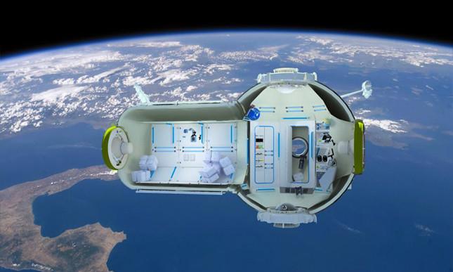 Hamarosan szálloda épülhet az űrben!