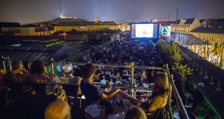 Idén is vár a Budapest Rooftop Cinema