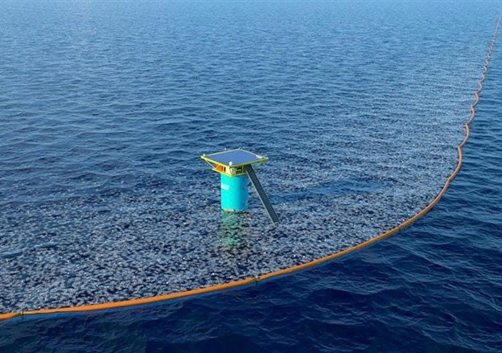 Íme a világ legnagyobb óceántisztító gépe: még idén munkába áll