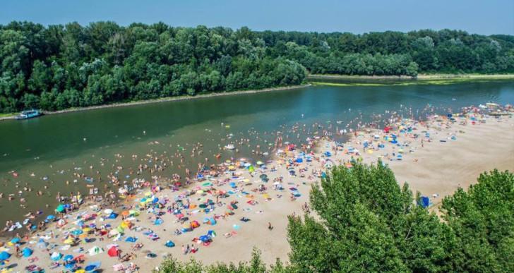 Tovább szépül a legszebb magyarországi folyómenti strand