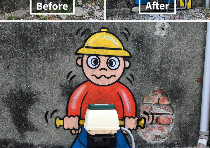 Ez már művészet! Zseniális graffitis járja Amerika utcáit, és nagyon reméljük, hogy még sokáig nem kapják el
