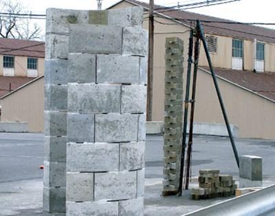 Így lesz a műanyagból beton!
