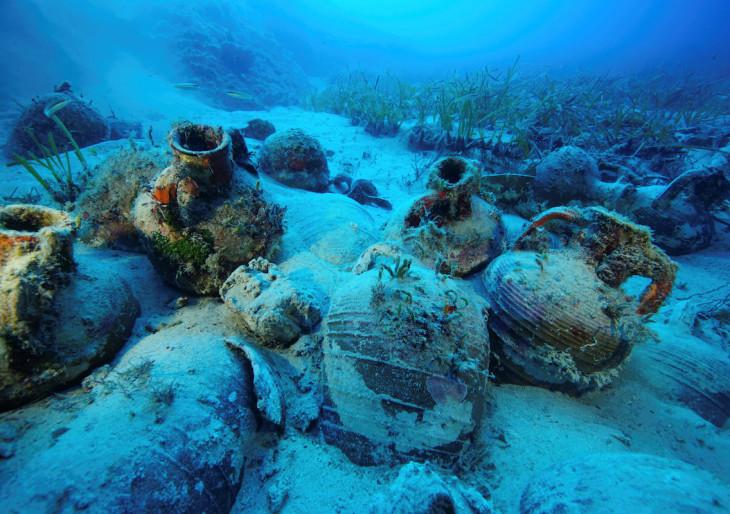 A világ legnagyobb hullámsírját fedezték fel az Égei-tengeren