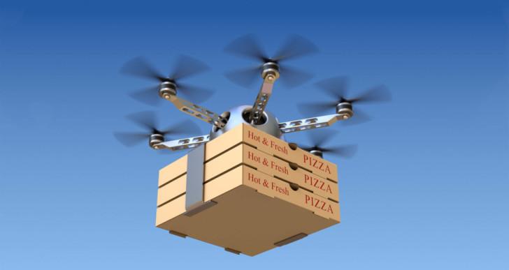 Megvan, mikor indulhat az Uber drónos ételkiszállítása