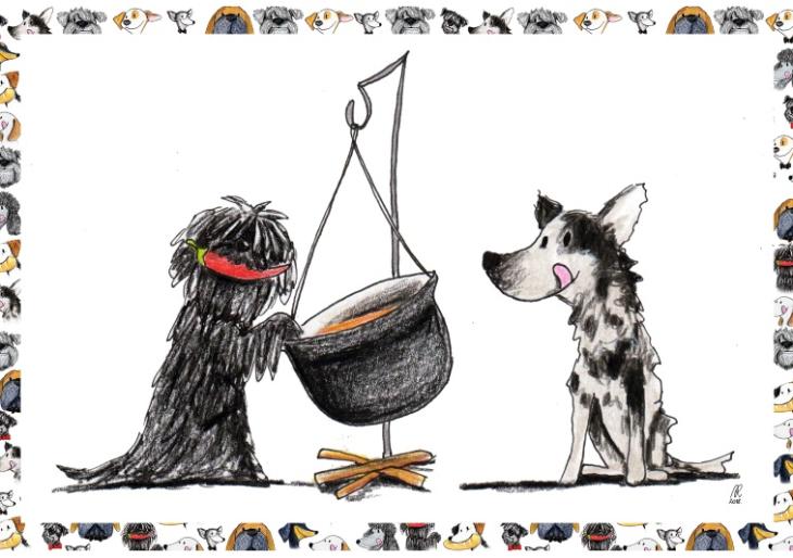 Sütemény helyett: rendelj ételt gazdátlan kutyusoknak