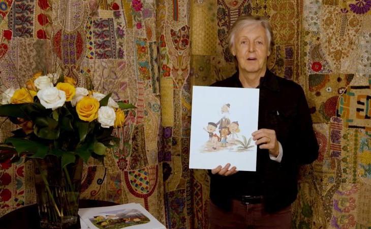 Ennél menőbb nincs: mesekönyvet írt Paul McCartney