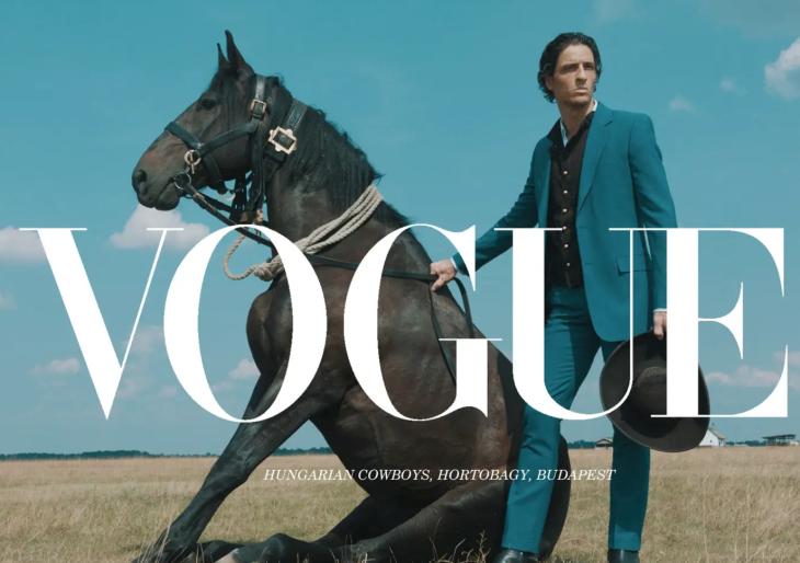 A Vogue szerint a csikós a divat!