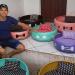 Használt autógumikból készít állatoknak fekhelyet egy brazil művész