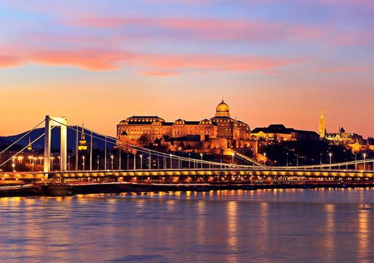 Budapest a legjobb európai úti cél
