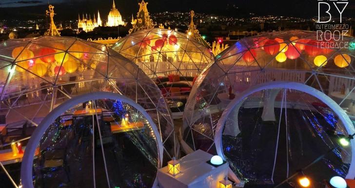 Új buborékbár nyílt Budapest felett