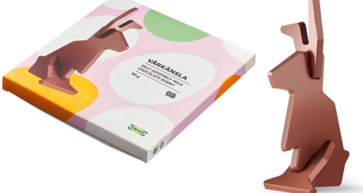 Nesze neked húsvét: lapraszerelt csokinyulat dob piacra az Ikea