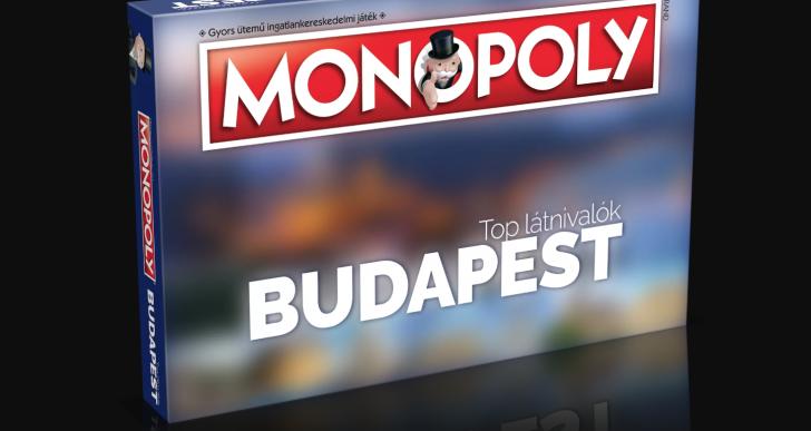 Budapest tematikájú különkiadással újít a Monopoly
