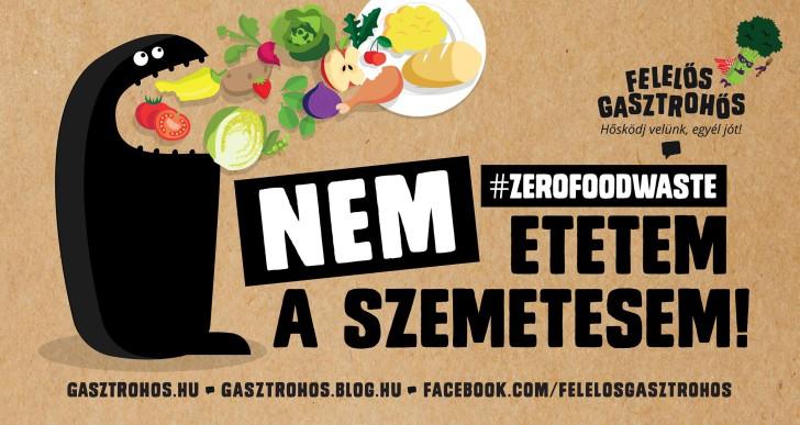 Az élelmiszerpazarlás ellen kampányol az Aranyélet sztárja
